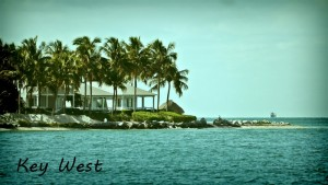 Key West vue port