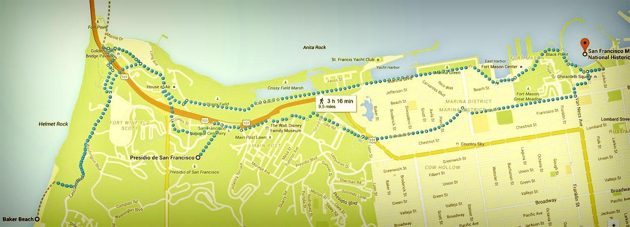 San Francisco itinéraire Jour 4