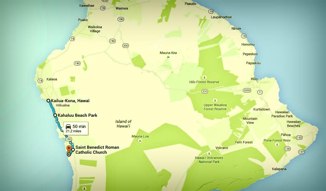 Big Island itinéraire Jour 2