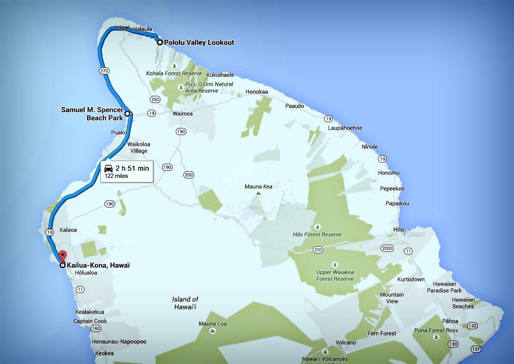 Big Island itinéraire Jour 4
