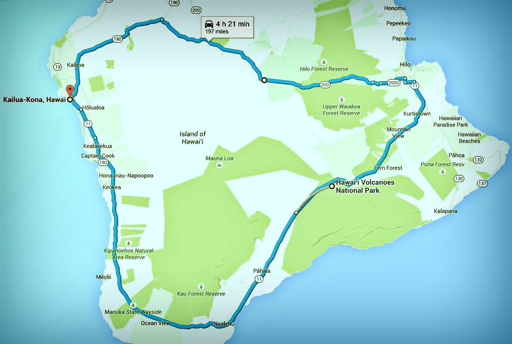 Big Island itinéraire jour 5