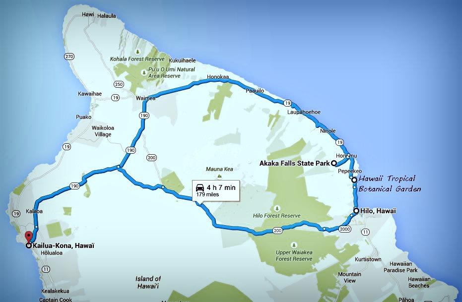 Big island itinéraire Jour 6