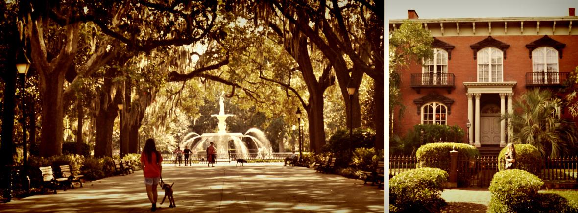 Fontaine à Savannah