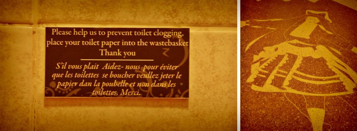 Papier toilette amérique du sud